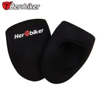 Wholesale 3MM Thick HEROBIKER Bicycle Protector Warmer Boot Cover Outdoor Sports Wear Bike Cycling Shoe Cover Black Pair Size EUR