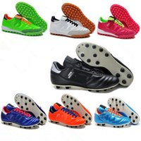 astro shipping - 2015 New Copa Mundial Team Astro TF AG SG Classic Real Kangaroo Leather Cleats Soccer Shoes Football Boots