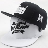 baseball r - High Grade Black White R Letters Embroidery Flat Along the Cap Fashion Couples HipHop Cap Outdoor leisure Adult Baseball Cap