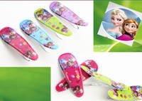 Barrettes pvc Character 9%off,in stock!frozen elsa anna hairpin Children's hair accessories Princess hairpin Girls BB clip pvc drop shipping,hot sale,120pcs HJ