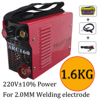 Wholesale Micro ARC160 welder suitable for MM electrode IGBT inverter DC hand welding machine welding equipment with accessories and eyes mask