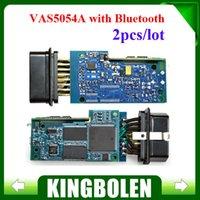 Wholesale 2PCS Newest VW Bluetooth VAS5054A VAS VAS5054 with Multi language