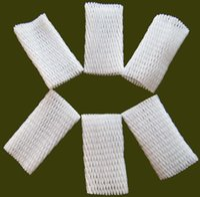 Wholesale Supplying from Stock W WHITE EPE FOAM MESH FOAM SLEEVE NET MANGO PACKING FOAM WRAPPER