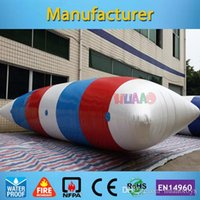 Wholesale m mm PVC inflatable water blob for sale with free CE UL pump carry bag repir kit