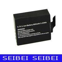 Wholesale New Original SJ4000 Battery V mAh For Sport Camera SJ4000 gopro high quality DHL