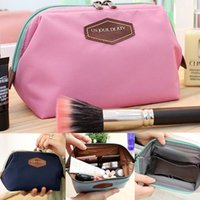 Wholesale Cotton Blend Cosmetic bag Travel make up purse organizer cosmetic necessaries makeup toiletry storage toiletry brand box viaje Z00412