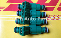 Wholesale 4pcs Set cc Green Top High Impedance Fuel Injectors Jets For Volvo