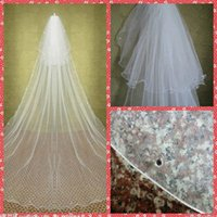 Cheap two tiers wedding veils Best wedding veils 2015