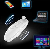 Wholesale Universal Bluetooth Remote Controller wireless Gamepad Mouse Mini Wireless joystick For iPhone For Samsung Android IOS VR BOX