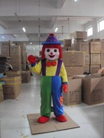 amusement clothing - Amusement park clown dolls walking festive clothes custom mascot costume cartoon dolls plush toy doll Mascot Costumes