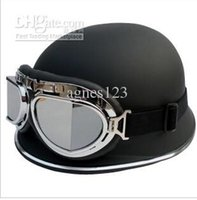 Wholesale AK FO German helmet electric motorcycle helmet Harley helmet half send goggles top sale