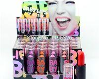 baby pink makeup - 24pcs set Color Fashion Sexey Baby Lipsticks High Quality Brand Hengfan Lip The Balm Makeup red pink orange Matte Colored Lips