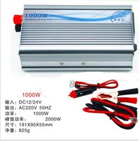 220V auto power converters - Auto Car Power Inverter V Converter to V W Pure Sine Wave Inverter Adapter