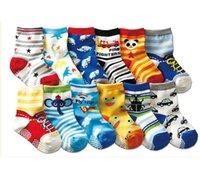 1 Paire de Baby Anti Slip Nouveau-né 0-3years Coton Lovely Chaussures Cute Animal Cartoon Chaussons Bottes Boy Girl Unisex Skid Chaussettes