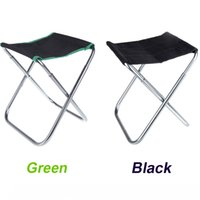 Wholesale New Portable Folding Chair Outdoor Camping Fishing Chair Aluminum Oxford Cloth Stool with Carry Bag