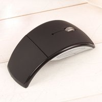 arch wireless - High Quality Mini Portable Arch Creative Design Wireless Folding Mouse Optical GHz Technology for Laptop Desktop