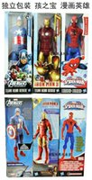 Wholesale Hot Marvel Action Figure Titan Series Hasbro Super Hero Action Figure Toys Set Spider man Iron man Capital America Star Wars Figure A2