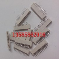 access connector - FPC mm pitch connector pin P straight sided access