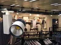 Wholesale W led cob track light super bright for shops use CE ROHS approved two years warranty