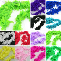 Wholesale Factory Price Fluffy Feather Scarves Dressup Hen Night Wedding Party Fancy Boas Scarf Wraps