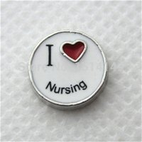 beef gifts - Fashion Jewelry Charms Hot selling I love nursing floating charms for glass memory floating locket sell beef