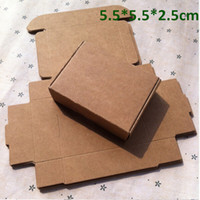 Wholesale 5 cm Kraft Paper Box Gift Box for Jewelry Pearl Candy Handmade Soap Baking Box Bakery Cakes Cookies Chocolate Package Packing Box