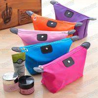 Wholesale Nylon Cosmetic Bags Cases Handbag Waterproof Admission Package Storage Bag Makeup Tools Brushes Bath Bag