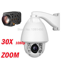 zoom ip camera - 1080P CCTV PTZ IP camera speed dome fps Array IR Day Night Vison Zoom X Lens CCTV Security Video Network Surveillance