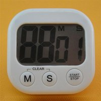 electronic clock timer - Square Electronic Digital Large Screen Count Up Down Alarm Kitchen Cooking sport CountDown Timer Clock Minute