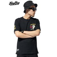 big black tees - Hey Big Summer Fashion Motor Club T Shirts Men Skateboard Streetwear Boy Gangsta Cotton Men Shirt Short Sleeve Casual Man Tees
