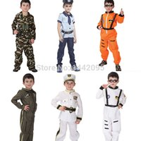 astronaut costumes - Boy Halloween Costumes For Kids Navy Policeman Astronaut Pilot Party Cosplay Costume Pirate Costume Boy Christmas Costume
