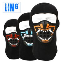 Wholesale Sports amp Entertainment New Face Mask Outdoor Warm Sport Cotton Skull Skiing Snowboard Skating Cycling Men mask for the