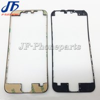 Wholesale 100pcs For iPhone G quot LCD Frame LCD Holder Middle Bezel Digitizer Frame With m Adhesive hot glue black white
