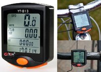 Wholesale 2015 New LED Display Cycling Bicycle Bike Functions Computer Odometer Speedometer