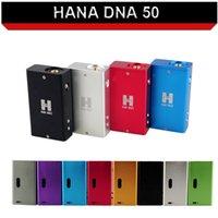 Wholesale DNA electronic cigarette mod dna Watt powerful output DNA50 box mod e cigarette battery Fit aerotank protank RDA vs DNA DNA30