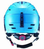 Wholesale hot sale ABS five color factory supply adult with visor ski open face helmet skateboarding skiing helmets