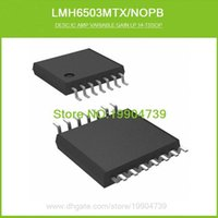 amp gain - LMH6503MTX NOPB IC AMP VARIABLE GAIN LP TSSOP LMH6503MTX LMH6503
