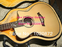 acoustic guitar cases - NEW CE Acoustic Electric Guitar Natural With Case Ebony fingerboard Guitar factory