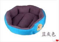 Wholesale Hot Sales Cheap Soft Dog Bed Pet House Soft warm Pet Bed Nest Bed to Large Dogs Colours to Choose Suitable kg kg kg Dog