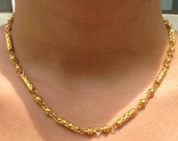 Wholesale 14K YELLOW GOLD ROPE CHAIN BRAID ROPE CORD Gilt NECKLACE MADE IN ITALY KT
