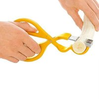 banana slices - Useful Banana Slicer Cutting Chopper Cutter Tools Slice Easy Salad Tools