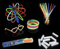 Wholesale Luminous Light Stick Glow Bracelet Bar Concert Party celebration glow in the dark Stick fluorescence stick Bracelet Toys
