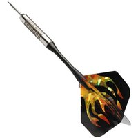 Wholesale New D Bling Cool Sports Darts Flights Fire Black Gold Laser Tail Wing PET Hot Sale