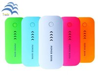 Wholesale 5600mAh Portable power bank Cell Phone Chargers Powerbank Power Supply battery for iPhone Samsung Huawei great gift
