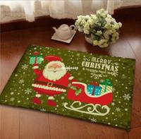 bath and holiday - 1PC Non slip Bath Mat Christmas Holiday Bedroom Living Room Hall Door Carpet Footcloth Cushion Rug cm cm BZ675805