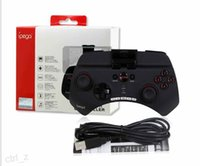 Wholesale Ipega PG Gaming Bluetooth Controller Gamepad Joystick For iPhone iPad ios Samsung HTC Moto Android Tablet Black White