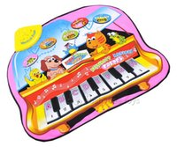 Wholesale Musical Flashing Mat for Kids Educational Musical Play Mat Eco Friendly Play Mat without Retail Box
