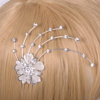 Wholesale 2015 prom banquet Ms Hair styling hair ornaments alloy decorative inlay diamond bridal headdress clz0084