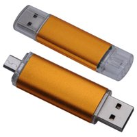 Wholesale Unique GB in Micro USB USB Flash Drive for Mobile Phone Cell Phone USB Pendrive Pen Drive DA1015
