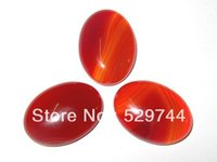 Wholesale Natural Stone Cabochons Oval x25 mm Carnelian Stone Good Quality and Standard Sizes